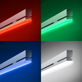 Facade lighting color rgbw led luminaires 7